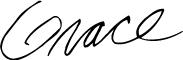 Grace Singleton's Signature