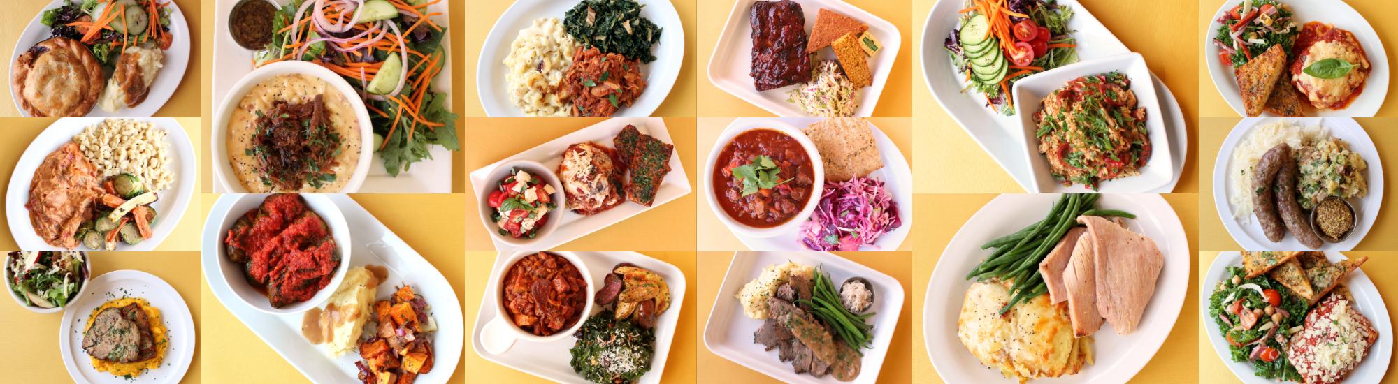 Zingerman's Deli Dinners A Go-Go plates