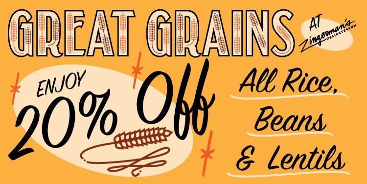 Zingerman's Great Grains Illustration
