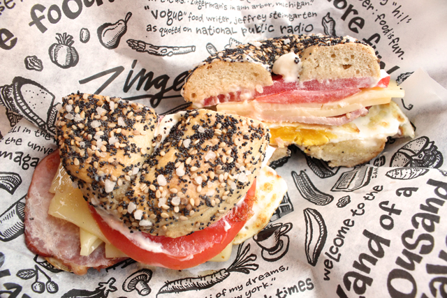 Zingerman's Deli Sandwich of the Month Cheryl's Saturday Morning Back Bacon
