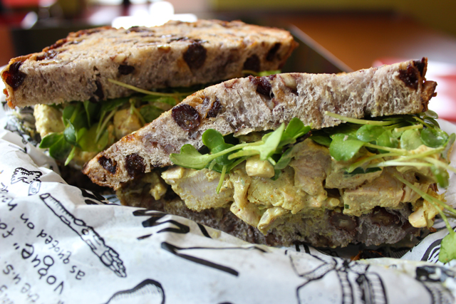 Zingerman's Curried Turkey #201 Raisin D'Être sandwich