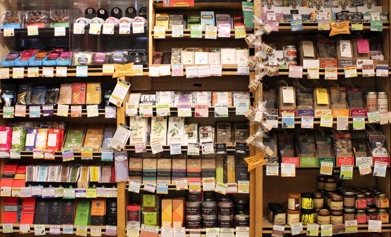 Zingerman's Next Door Café Chocolate Corner Shelves