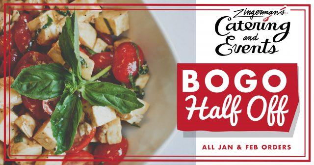 Zingerman's Catering BOGO Half Off Caprese Image