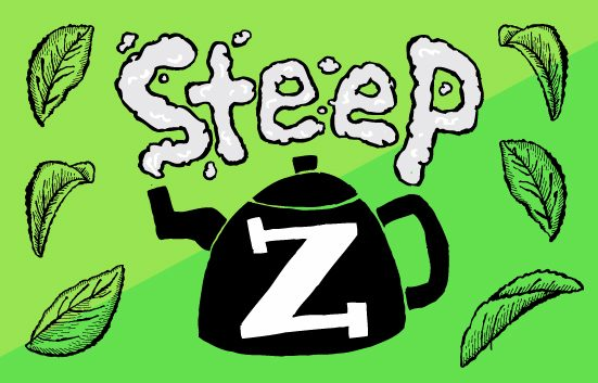 Zingerman's Deli Steep Tea Events teapot illustration