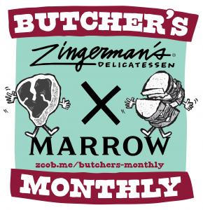 Butcher's Monthly Logo with Marrow