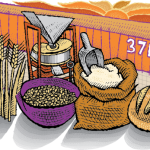 Freshly Milled Whole Grains at Zingerman's Bakehouse