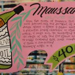 Hand Painted Poster - Maussane Olive Oil