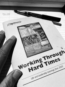 working through hard times